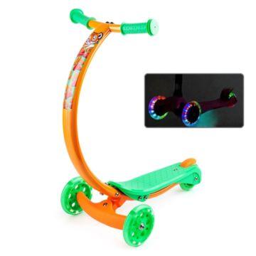 Самокат Zycom Zipster со светящимися колесами (тигренок)