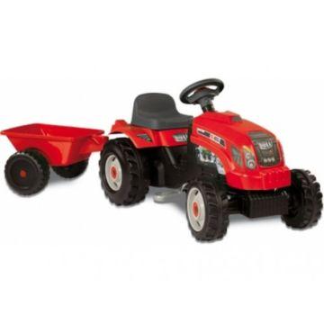 Трактор на педалях Smoby GM Bull (красный)