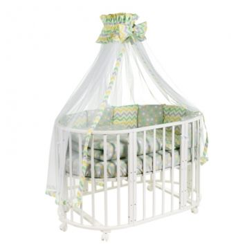 Комплект постельного белья Sweet Baby Stellino Giallo (8 предметов, поплин)