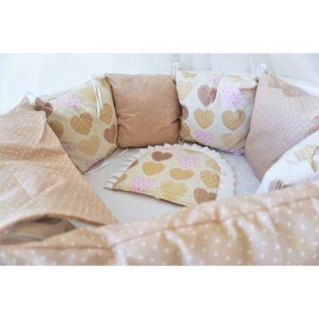 Комплект постельного белья Sleep and Smile (11 предметов, хлопок) (волшебная ночь)