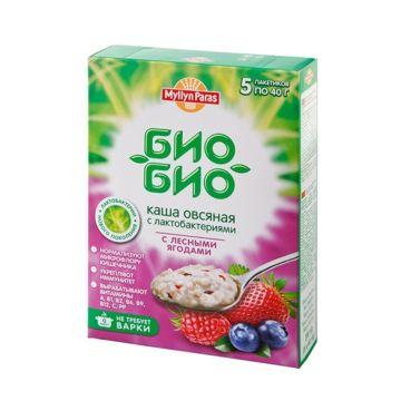 Каша Myllyn Paras овсяная с лесными ягодами Био-Био 200 г