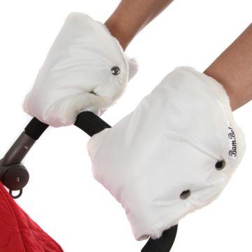 Муфта-варежки для коляски Bambola Лайт (белый)