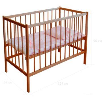 Кроватка детская Фея 101 (Орех)