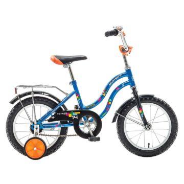 """Детский велосипед Novatrack Tetris 14"""" (2016) синий"""