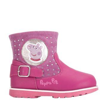 Полусапоги детские Peppa Pig 6287A для девочек (фуксия)