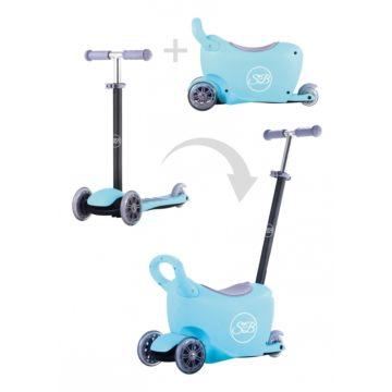 Самокат Sweet Baby Triplex 6 в 1 (голубой)