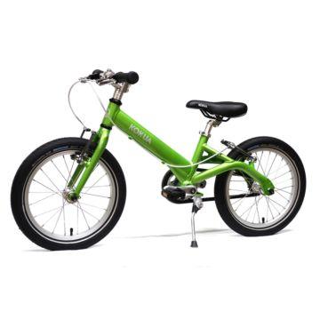 "Детский велосипед Kokua LiketoBike Sram Automatix V-Brakes с колесами 16"" (зеленый)"
