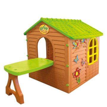 Игровой домик Mochtoys со столом 11045