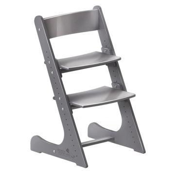 Растущий стул Конёк Горбунёк с эмалевым покрытием (серый металлик)