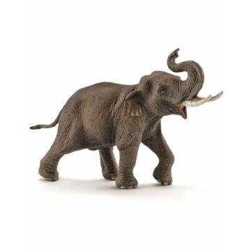 Азиатский слон самец идёт Schleich