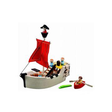 Развивающая игрушка PlanToys Пиратский корабль
