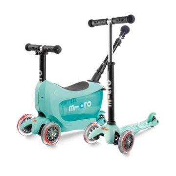 Самокат Micro Mini 2go Deluxe Plus (ментол)