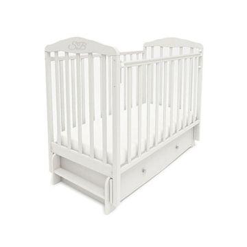 Кроватка детская Sweet Baby Eligio (продольный маятник) Bianco