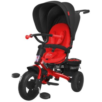 "Трехколесный велосипед RT Icon evoque New Stroller с ПВХ-колесами 11"" и 9"" (black brilliant)"