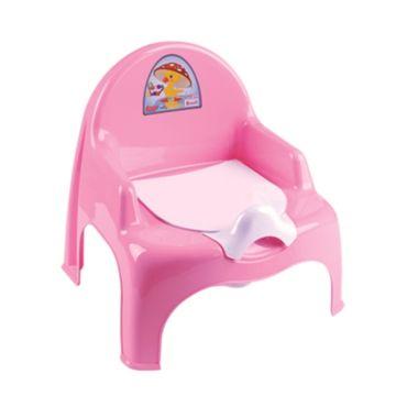 Горшок-кресло Dunya Plastik (розовый)
