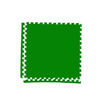 Мягкий пол Экополимеры 60*60 (зеленый)