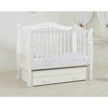 Кроватка детская Гандылян Моника (универсальный маятник) (белый)