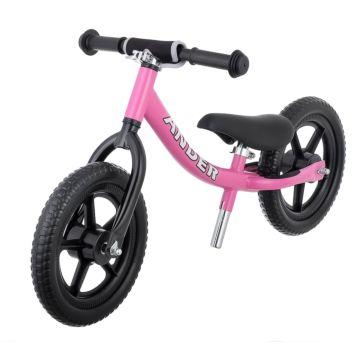 Беговел Ander с ПВХ-колесами (розовый)
