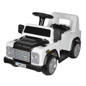 Электромобиль Dongma Land Rover Defender 18W (белый)