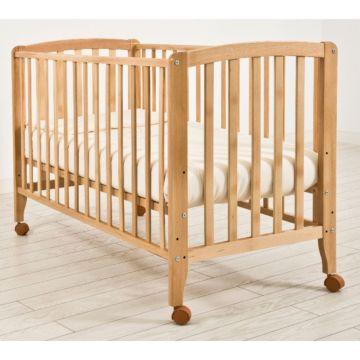 Кроватка детская Angela Bella Бьянка (колесо) (натуральный)