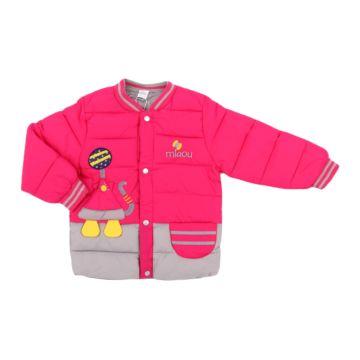 Куртка демисезонная Fun Time E19708 (фуксия)