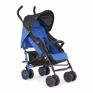 Коляска для двойни Chicco Echo (Power Blue)