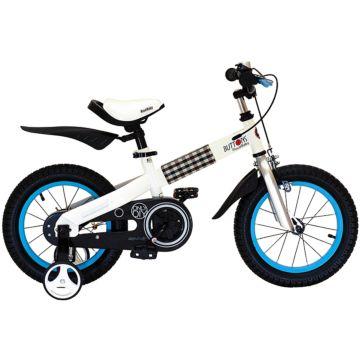 """Детский велосипед Royal Baby Buttons Steel 14"""" (голубой)"""