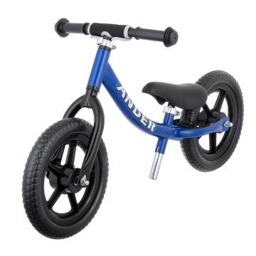 Беговел Ander с ПВХ-колесами (синий)