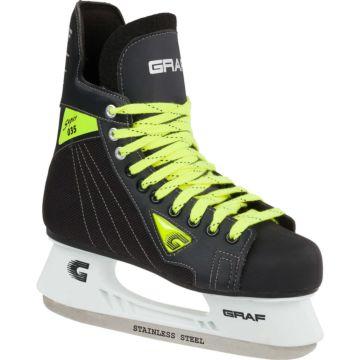 Коньки хоккейные детские Graf Super 035 Jr