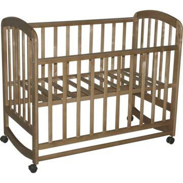 Кроватка детская Фея 304 (качалка-колесо) (Медовый)