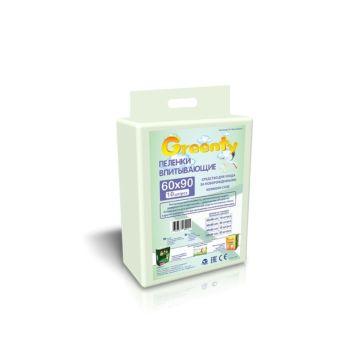 Пеленки одноразовые Greenty 60х90см (31 шт)