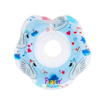 Круг для плавания Roxy Kids Flipper Лебединое озеро (Голубой)