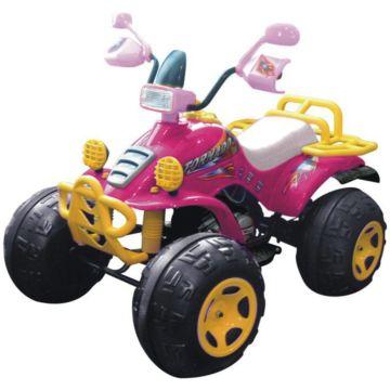 Электромобиль TCV квадроцикл Tornado II (розовый)
