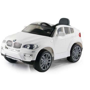 Электромобиль Coolcars BMW X6 12V (белый)
