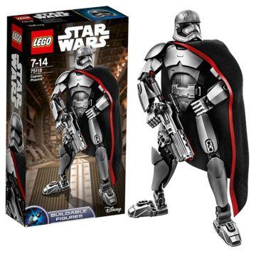 Конструктор Lego Star Wars 75118 Звездные войны Капитан Фазма