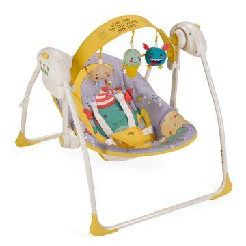Электрокачели Happy Baby Jolly (фиолетовый)