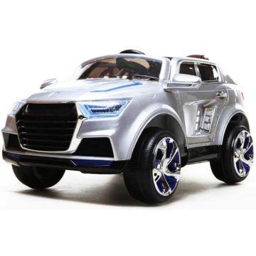 Электромобиль Kids Cars Bugati с пультом управления (серебристый)