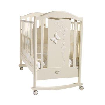 Кроватка Feretti Privilege Dondolo (качалка-колесо) (слоновая кость)