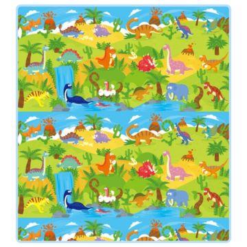 Развивающий коврик Mambobaby Динозавры