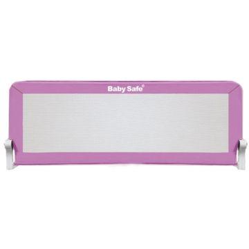 Барьер безопасности для кроватки Baby Safe Прямоугольник 180х42см (Пурпурный)