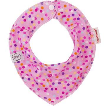 Нагрудник ImseVimse Bandana Pink Bubbles