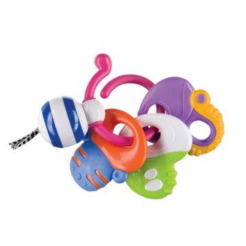 Прорезыватель-погремушка Happy Baby Keys of Fun