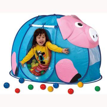 Детская палатка Calida с шарами Поросенок