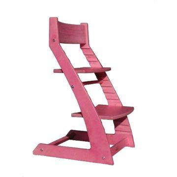 Растущий стул Kotokota с лакокрасочным покрытием (розовый)