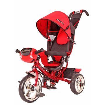 """Трехколесный велосипед Moby Kids Comfort 12/10"""" (Красный)"""