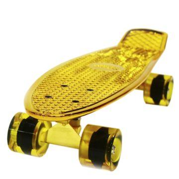 """Мини-круизер Hubster Cruiser 22"""" Metallic (gold)"""