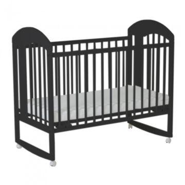 Кроватка детская Gnom Луна (качалка-колесо) (венге)