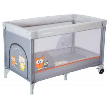 Манеж-кровать BabyMix Sowa Grey