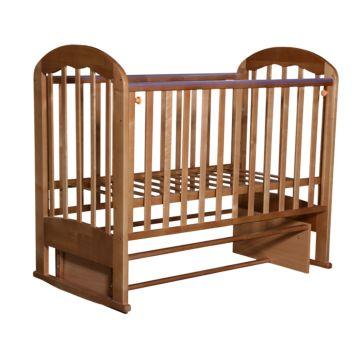 Кроватка детская Кедр Любаша 2 (поперечный маятник) (бук)