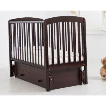 Кроватка детская Гандылян Чу-ча (универсальный маятник) (махагон)